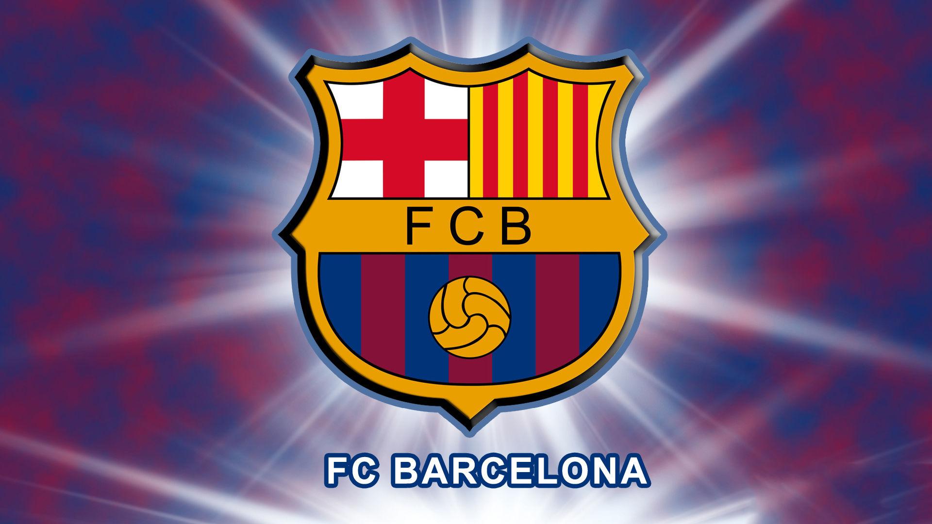 Fonds d'écran Fc Barcelone Logo - MaximumWall