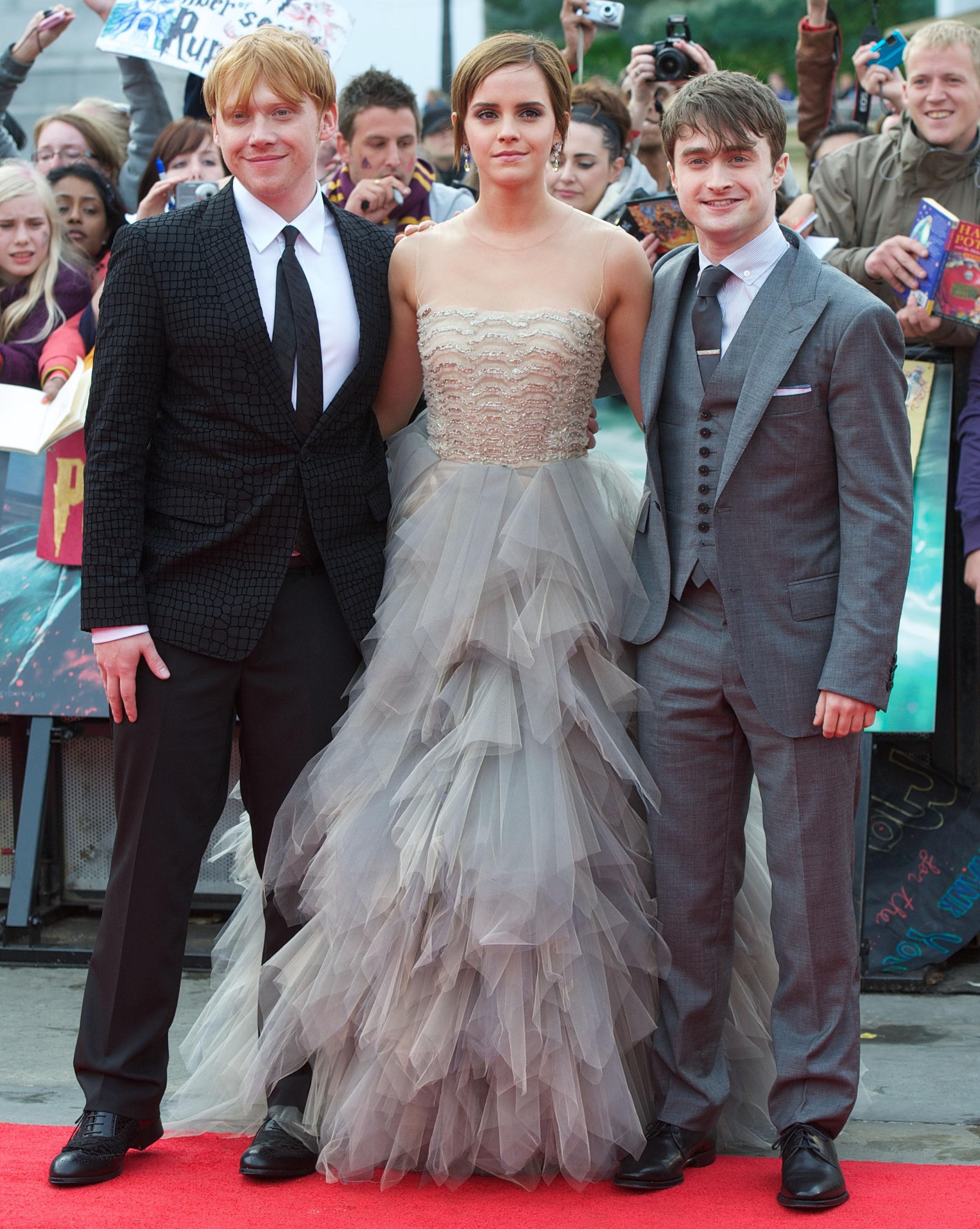Fonds d'écran Harry Potter Les Acteurs - MaximumWall