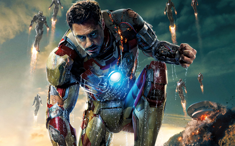 Fonds d'écran Iron Man 3 - MaximumWall