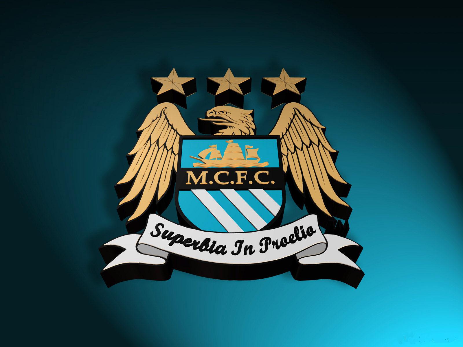 Fonds d'écran Manchester City Logo - MaximumWall
