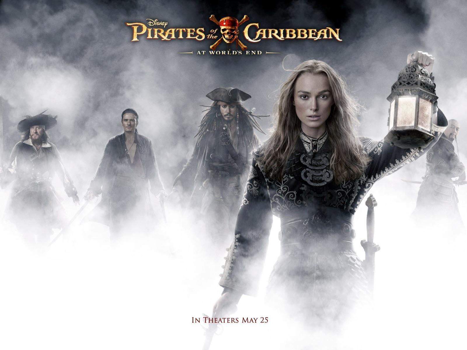 Fonds Décran Pirates Des Caraïbes 3 Jusquau Bout Du