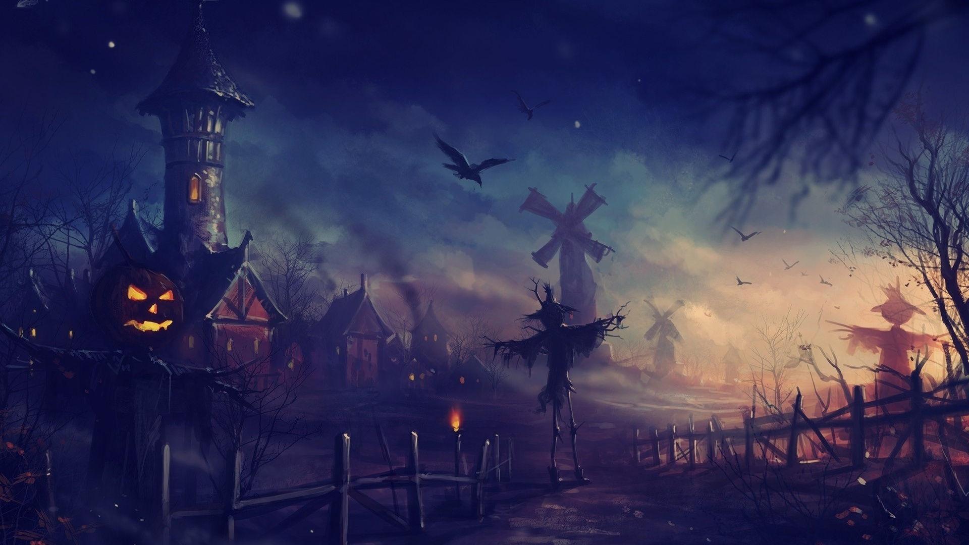 Fonds D Ecran Halloween Art Maximumwall