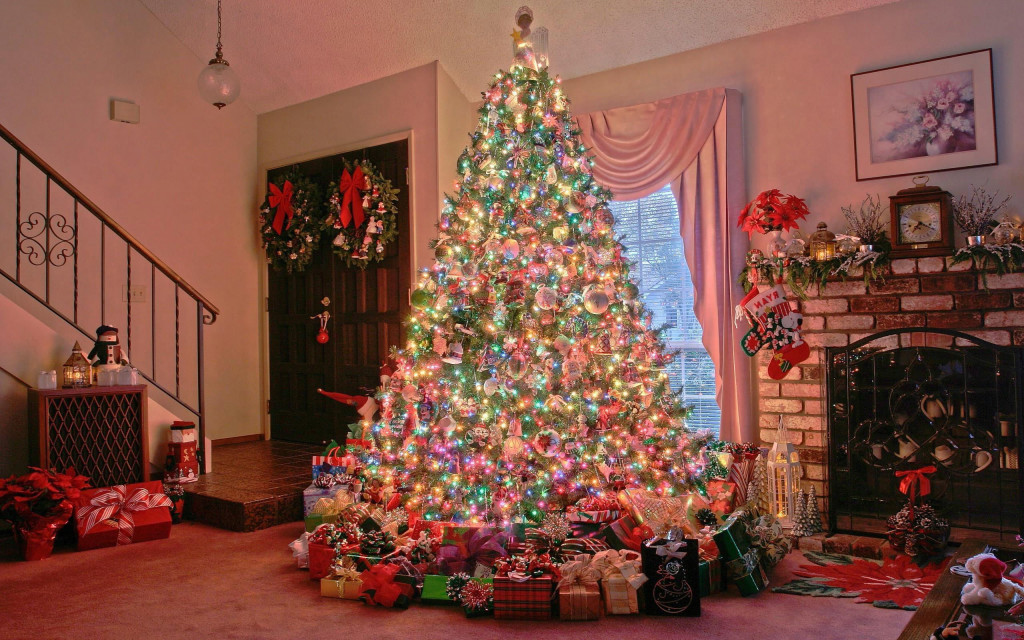 Fonds Décran Noël Décoration 2015 Maximumwall