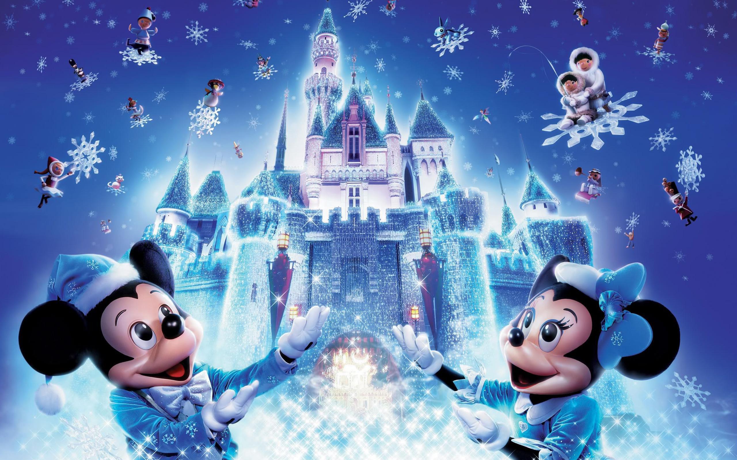 Fonds d'écran Noël Disney - MaximumWall