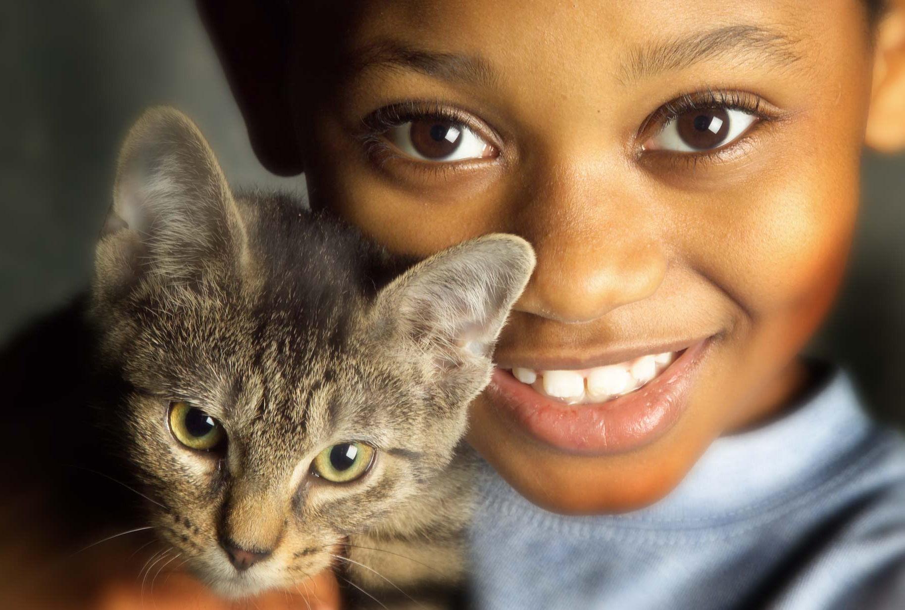 Fonds d 39 cran enfant et animaux maximumwall - Wallpaper animaux ...