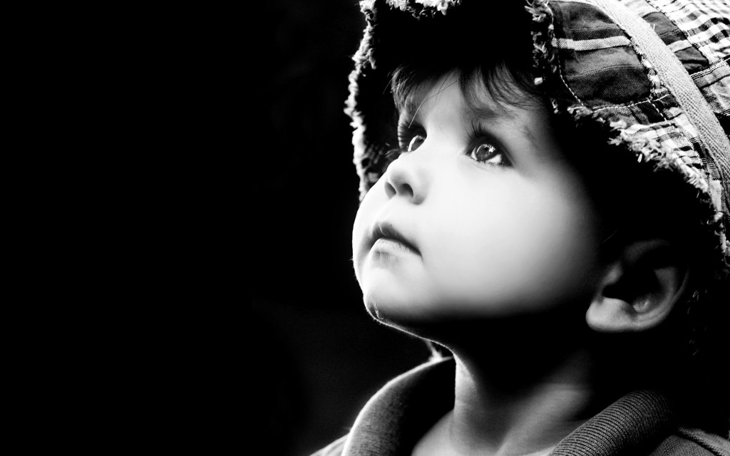 Fonds d 39 cran b b et enfants en noir et blanc maximumwall for Fond ecran amusant
