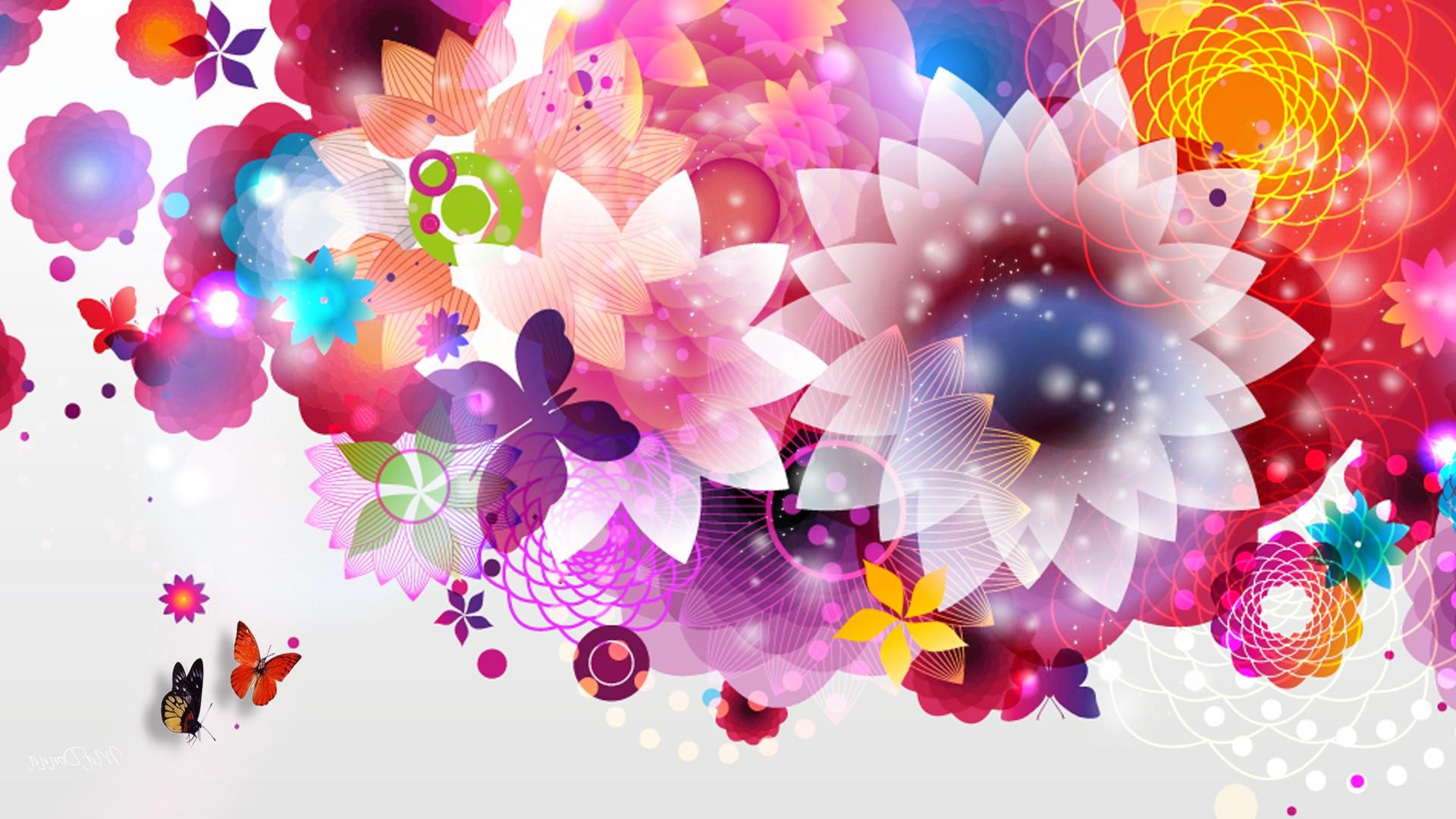 Wallpaper arri re plan abstrait fleur maximumwall for Fleurs internet