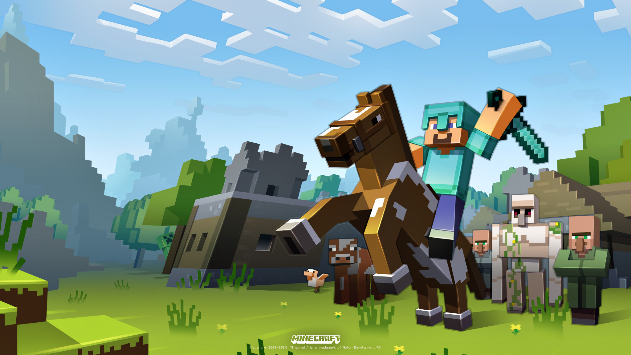 Wallpapers Minecraft Maximumwall