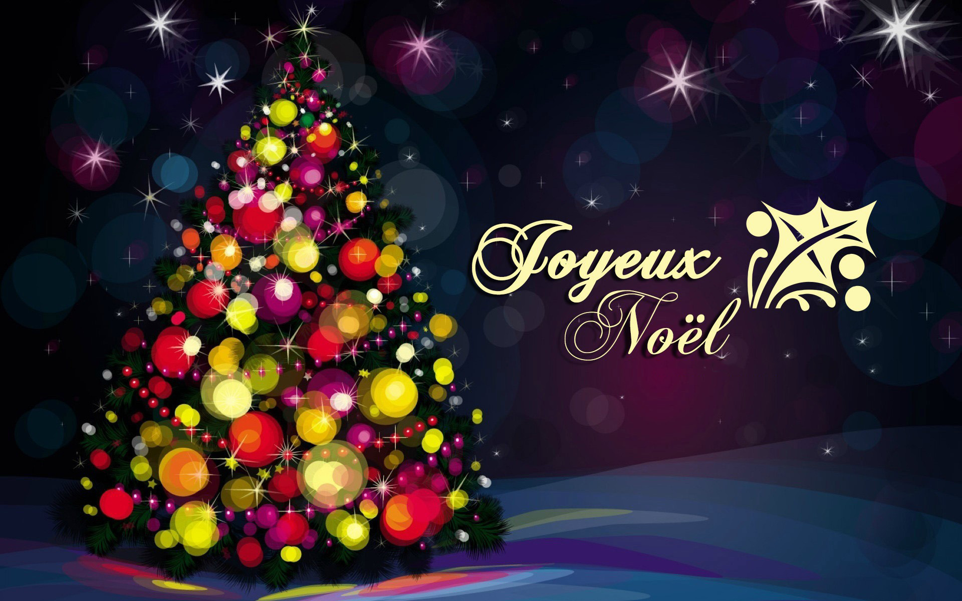 Wallpapers Joyeux Noël Maximumwall