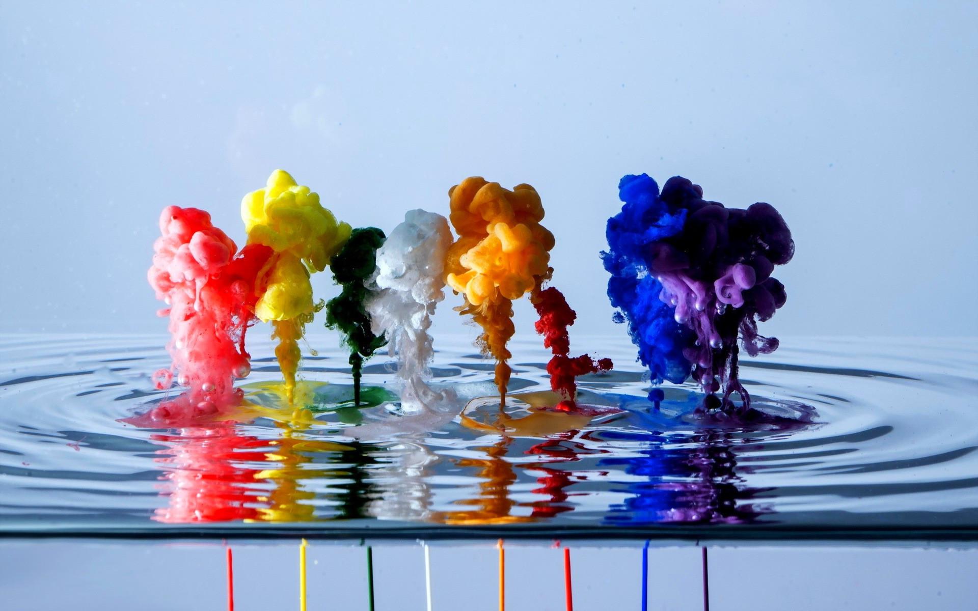 Liquid Color Paint