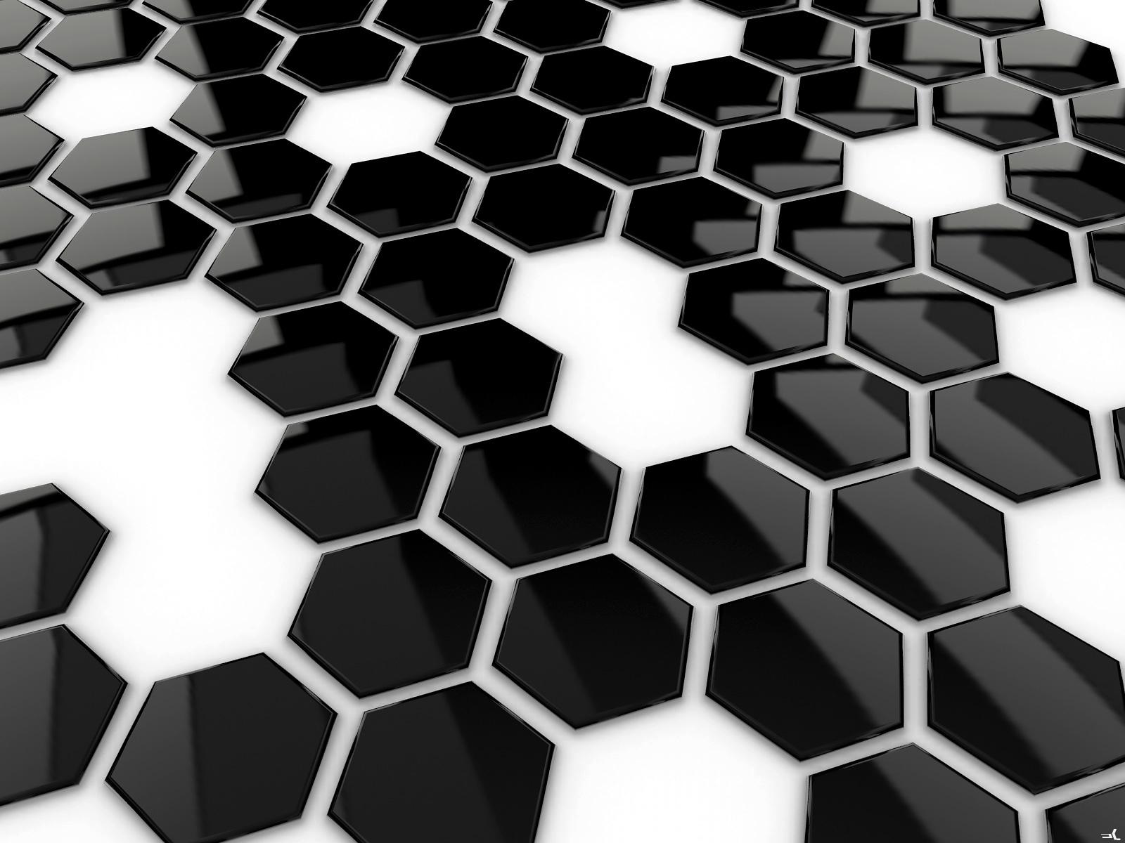 Fonds D'écran Abstrait Noir Et Blanc - MaximumWall