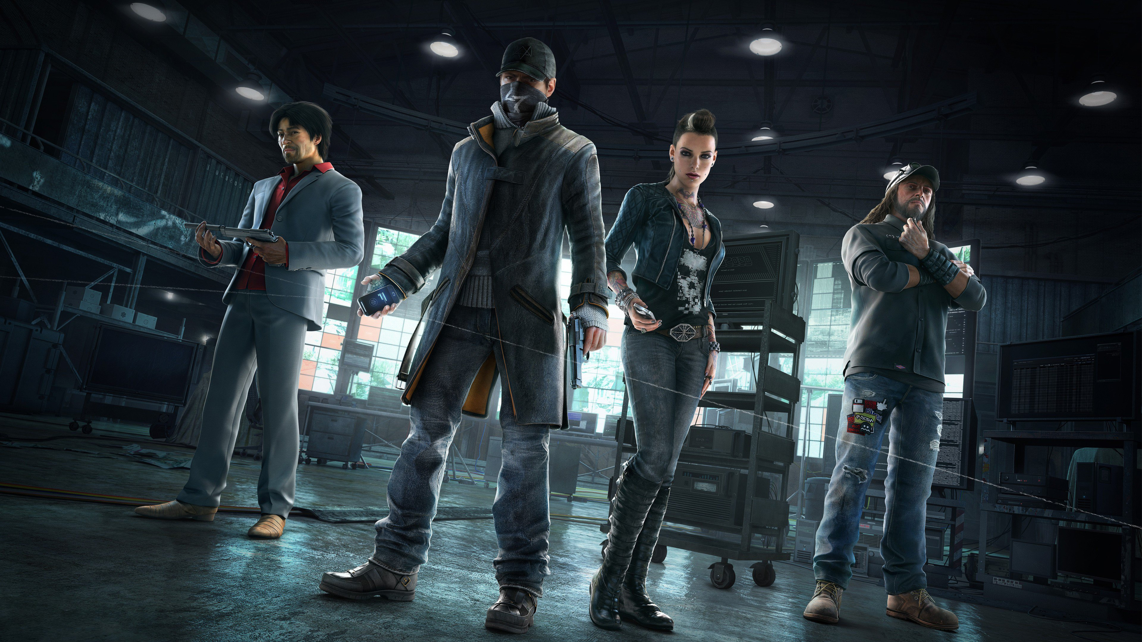Cyberpunk Watch Dogs
